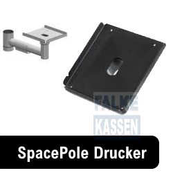 SpacePole Druckerhalterungen