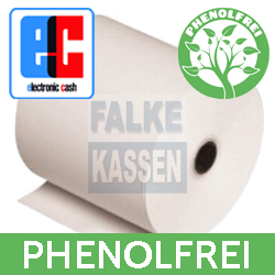 Thermopapier 57 mm EC-Cash BPA frei